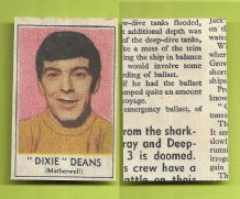 Motherwell Dixie Deans 1969